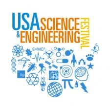 Logo for USA Science & Engineering Festival 2014